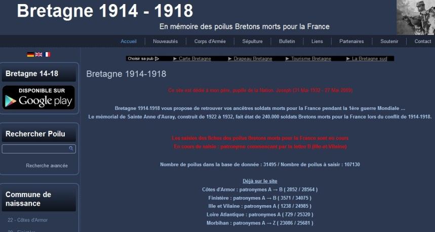 Bretagne 14-18