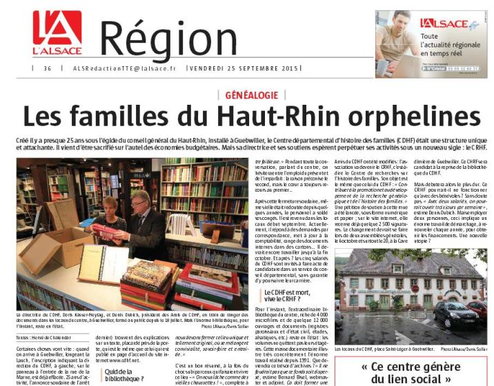 CDHF article 25 septembre 2015