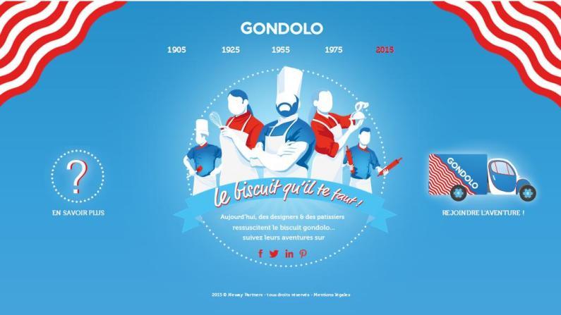 GONDOLO - Le biscuit qu'il te faut