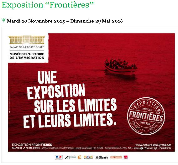 Expo Frontières