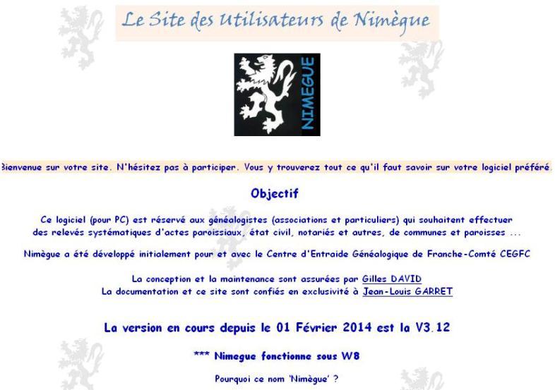 Site des utilisateurs de Nimègue