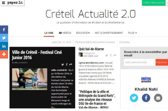 Créteil Actualité 2.0