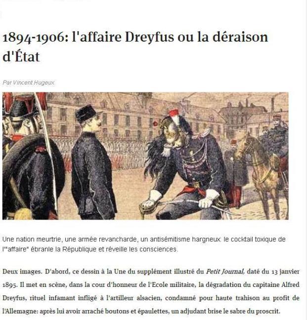 Dreyfus 13 janvier 1995