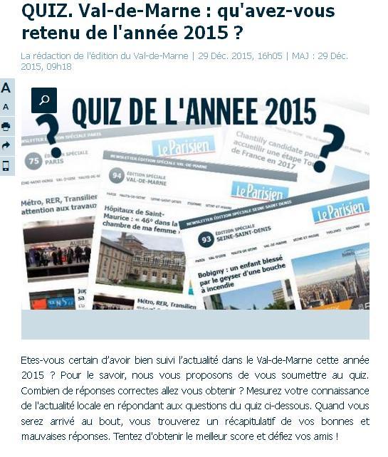 Quiz VDM 2015