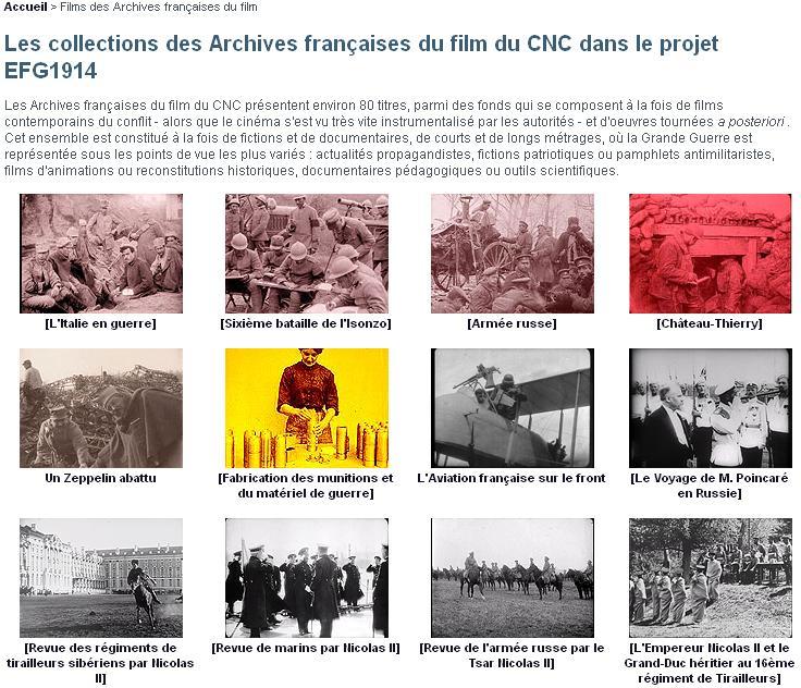 Archives Françaises du Cinéma CNC