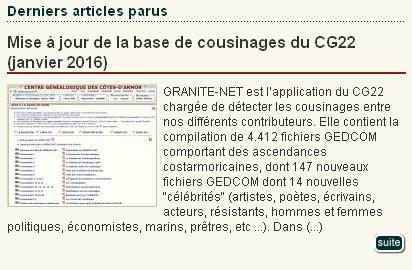 CG 22 - GRANITE NET
