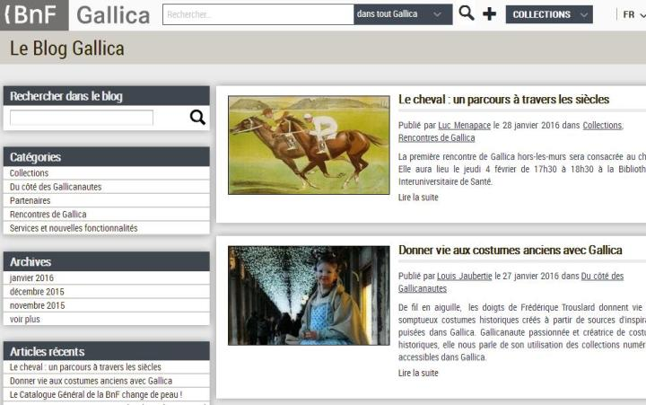 Le blog GALICA