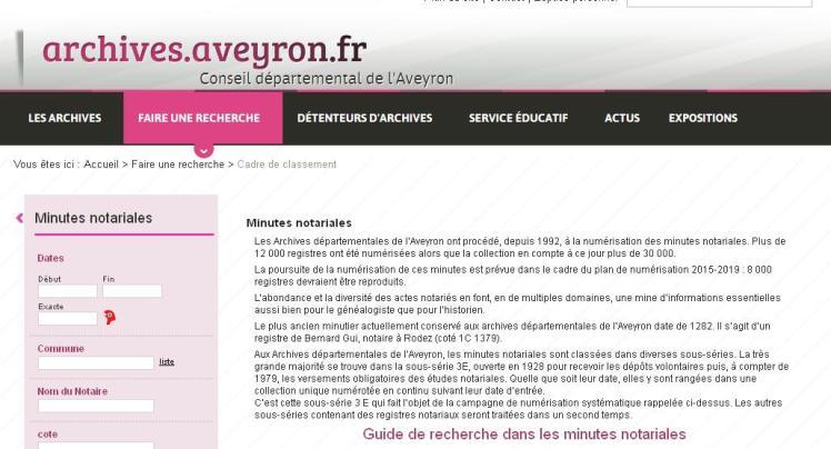 Notaires Aveyron