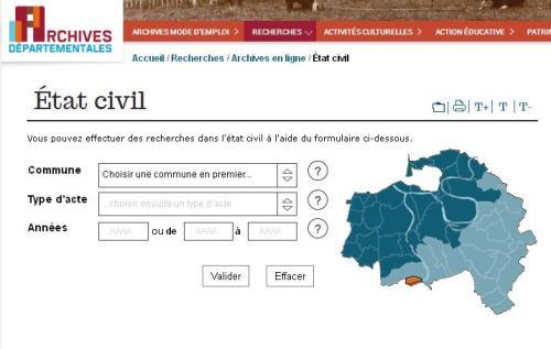 Recherche etat-civil AD 94