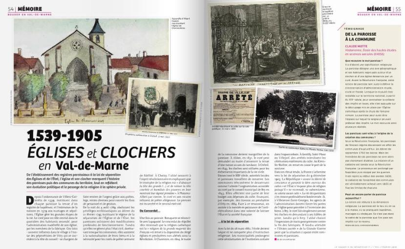 1539-1905 Eglises et clochers