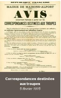 1915-02-05 Correspondance