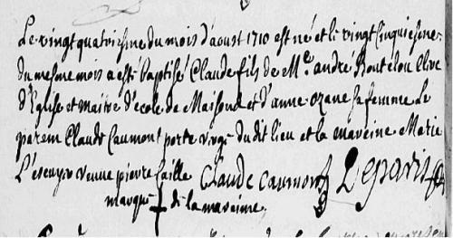 24 août 1710