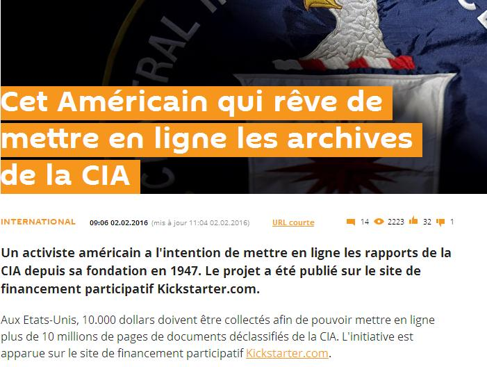 Archives de la CIA
