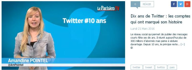10 ans de Twitter