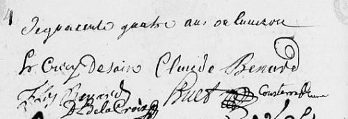 1725 le 19 mai = Pierre DAIX dans l'église 2