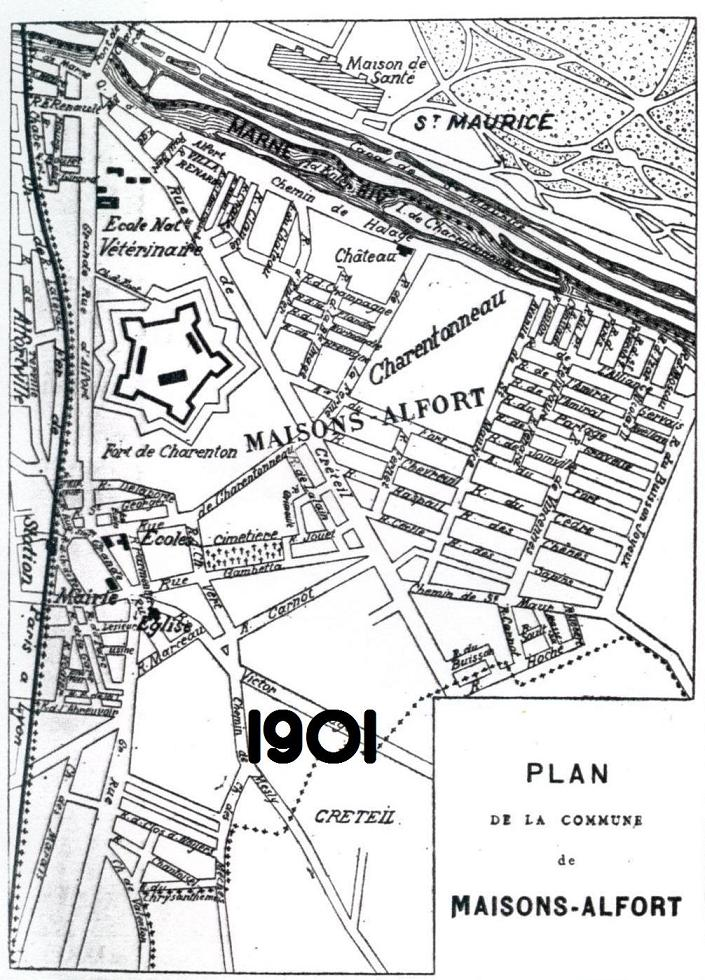 1901 -  Plan-Maisons