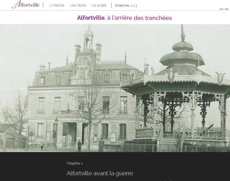 Alforville WW1 avant la guerre