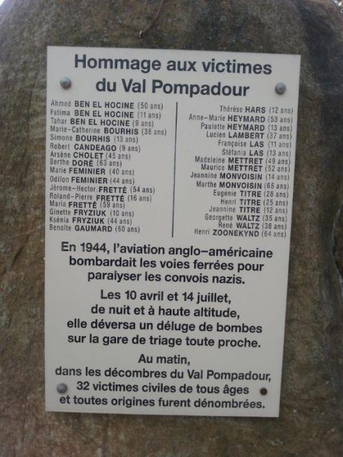 32 victimes à Val-Pompadour