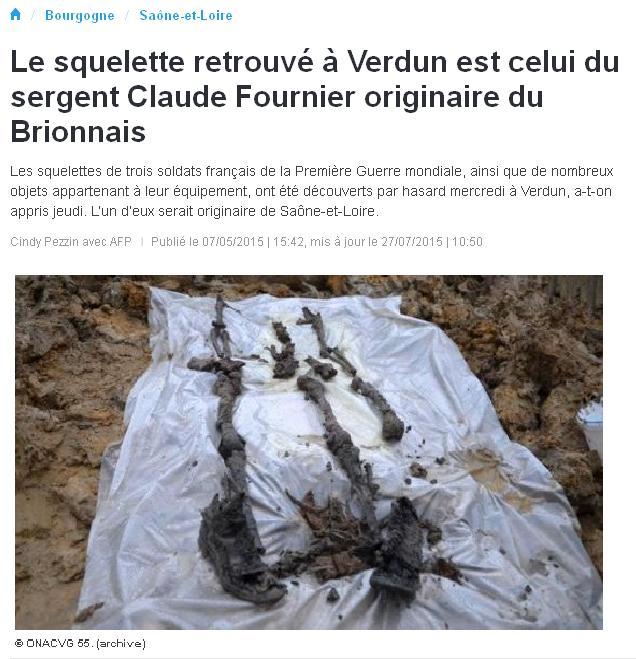 Squelettes retrouvés