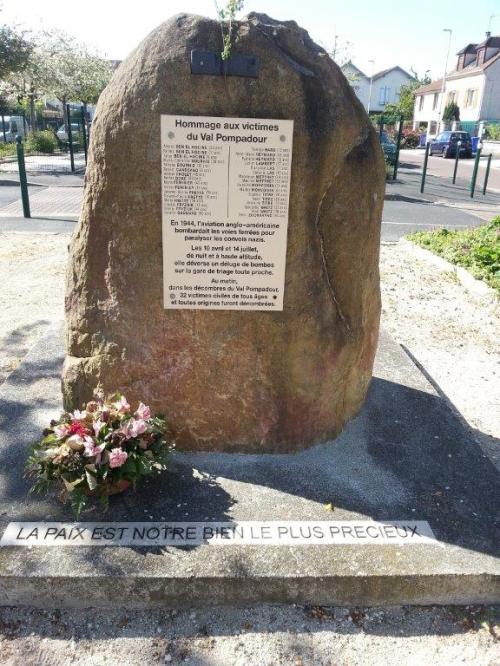 Stèle Val-Pompadour