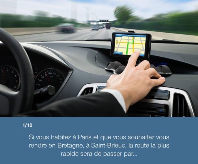 Quiz routes de France