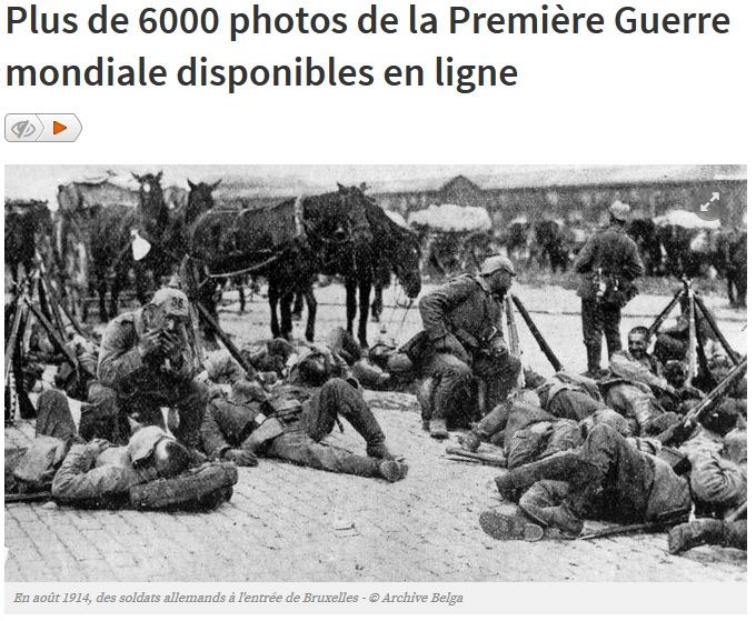 6000 photos WW1