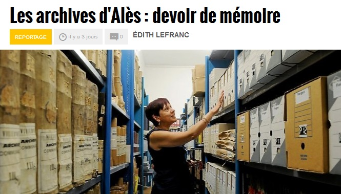Archives d'Alès