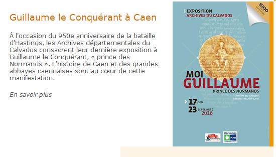 Caen - Gillaume le Conquérant