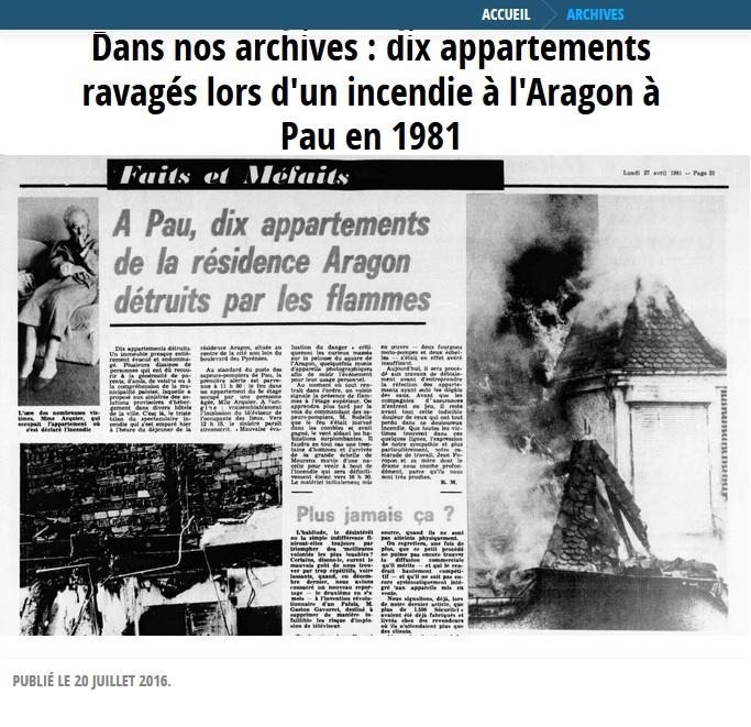 Pau archives 1981