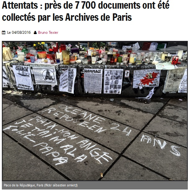 Attentats aux archives de Paris