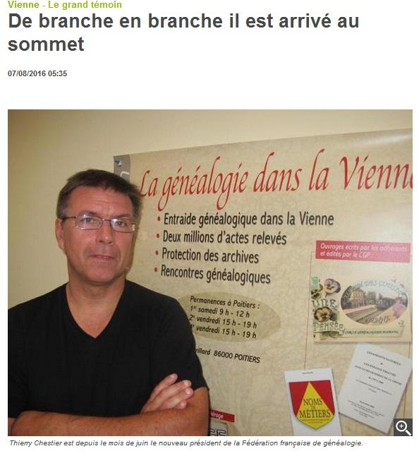 Genealogie en Vienne-FFG