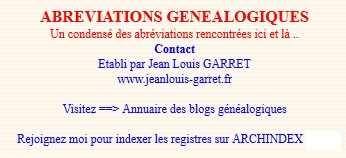 abreviations-garret
