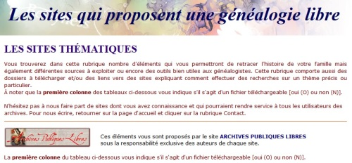 genealogie-libre-sites-thematiques