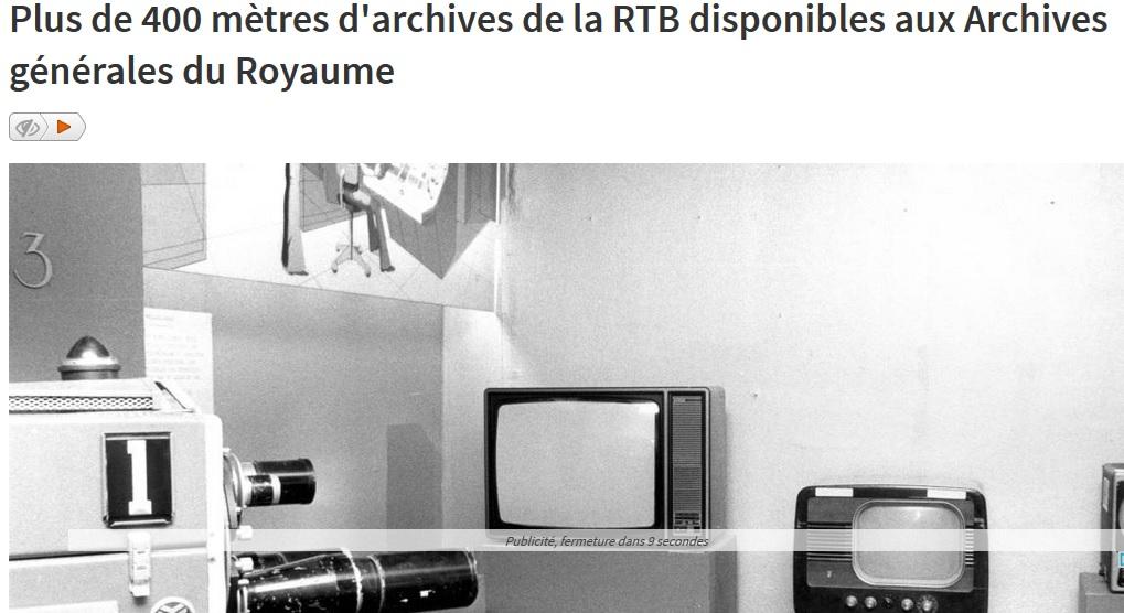 Article du jour 338 archives papier de la rtb radio for Bar belge maison alfort